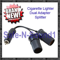 Cigarette Lighter Dual Adapter Splitter